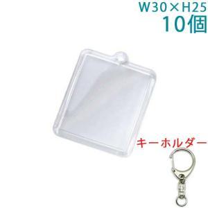 ハメパチ ミニ長方形(プリクラ大) KK30 10個入り (キーホルダー 555M付)|daiomfg
