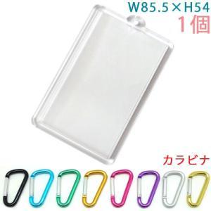 ハメパチ 長方形(特大) KK85 1個入り (カラビナ 4×40F S型フラットタイプ付)|daiomfg