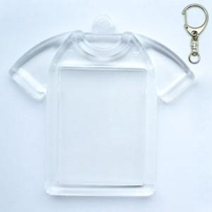 ハメパチ ミニTシャツ型 KT25 10個入り (キーホルダー 555M付)|daiomfg