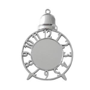 ミール皿・空枠 時計 シルバー|daiomfg