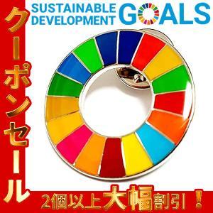 SDGs 国連ガイドライン対応  ピンバッジ バッチ バッヂ (丸型)
