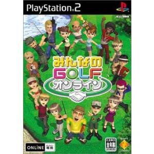 みんなのGOLFオンライン-みんなのゴルフ/中古PS2
