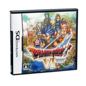 商品名:DS ドラクエ6/ドラゴンクエスト6 幻の大地/DQ6/中古DS 作者:スクウェア・エニック...