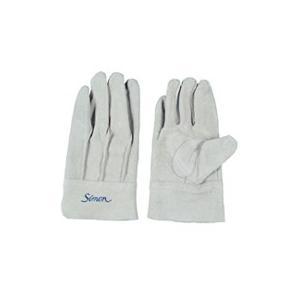 作業革手袋 皮手袋 牛床革手袋 背縫い シモン simon 107AP|dairyu21