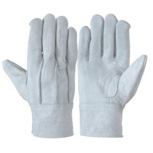 作業革手袋 皮手袋 牛床革手袋 背縫い 12双組 107BC エコノミータイプ|dairyu21
