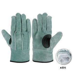 シモン 作業革手袋 皮手袋 牛床革手袋 背縫い 107AP-W オイル裏地付|dairyu21