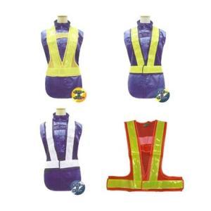 安全ベスト 反射ベスト 60mm 326-60 富士手袋工業|dairyu21