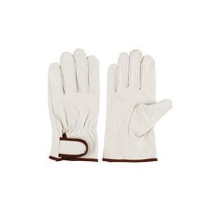 作業革手袋 皮手袋 豚革手袋 当て付マジック シモン 718豚白|dairyu21