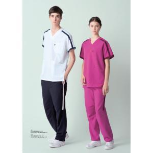 白衣 ミズノ MIZUNO unite MZ-0090 スクラブ 男性 女性 兼用 医師 看護師白衣  dairyu21 03