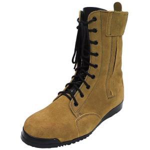 安全靴 高所用 みやじま鳶 琥珀色 ノサックス