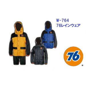 レインウェア 76Lubricants W-761 ナナロク...