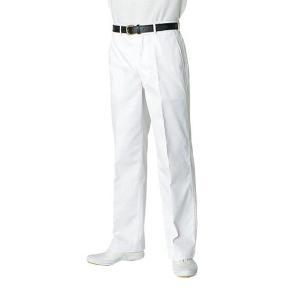 白衣ズボン フロントファスナー KH-420 ポリエステル65%綿35% 男性用 チトセ【chitose】(kh420)|dairyu22