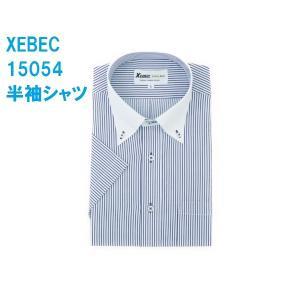 半袖Yシャツ(ワイシャツ) クレリック 3L 4L クールビズ 15054 ジーベック XEBEC|dairyu22