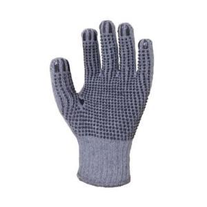 滑り止め軍手 助っ人手袋 12双組 1980 ビニボツ 作業手袋 富士手袋工業|dairyu22