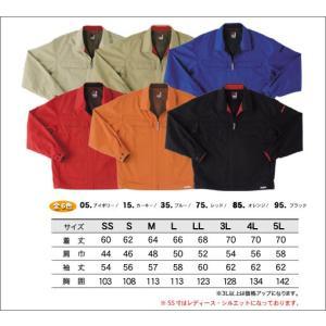 長袖ジャンパー カジュアルワーク 3L 4L 秋・冬 作業服・作業着(2116towa-b)|dairyu22