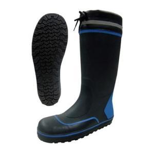 安全長靴 40-95 フラット底 セフティブーツ 富士手袋工業|dairyu22
