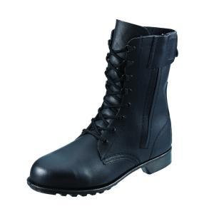 安全靴 シモン 長編上げ チャック付き 533C01JIS T8101 革製S種 合格品|dairyu22