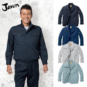 空調服 自重堂 JAWIN 54000 長袖ブルゾン 作業服のみ(ファンなし) ポリエステル65%綿35% dairyu22