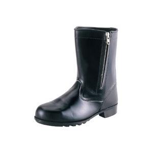 安全靴 シモン 半長靴チャック付き 544C02 Simon JIS T8101 革製S種 合格品|dairyu22
