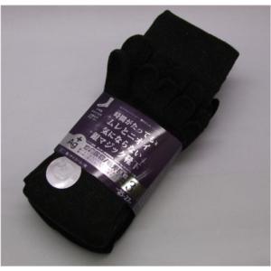 富士手袋工業 5本指靴下 銀イオン繊維使用 3足組 585 黒・チャコール・紺 消臭抗菌|dairyu22