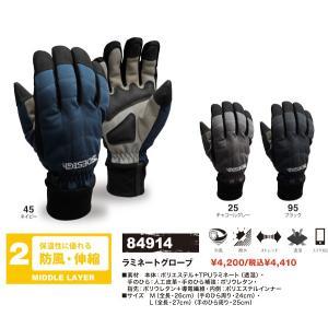 手袋 ラミネートグローブ TS DESIGN 84914 サイクルスポーツ バイク通勤 アウトドア(84914towa)|dairyu22