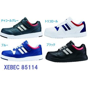 ジーベック 安全靴 ジーベック 85114 スーパーめちゃ軽 XEBEC 安全靴スニーカー dairyu22