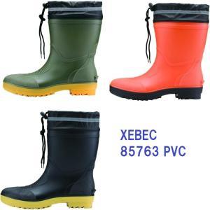 安全長靴 ショート丈 ジーベック 85763 安全ゴム長靴 xebec|dairyu22