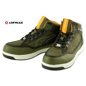 安全靴 エアウォーク AW-670 AIR WALK 迷彩カーキ|dairyu22