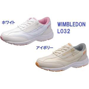 スニーカー ウインブルドン 女性サイズ L032 ウィンブルドン 介護士 靴|dairyu22