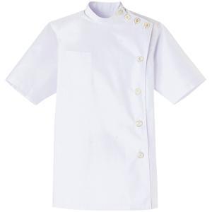 白衣 ケーシー 女性用 チトセ 15号 MB-1015 ポリエステル65%綿35% chitose dairyu22