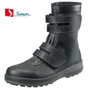 シモン 安全靴 シモン WS38 長マジック SX3層底Fソール(ws38si)|dairyu22