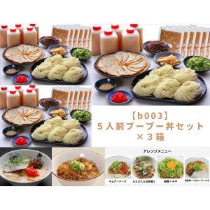 大龍ラーメン 5人前ブーブー丼セット ×3箱|dairyuramen
