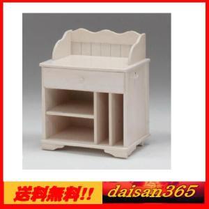 カントリー調 ホワイトナチュラル ワゴン |daisan-store