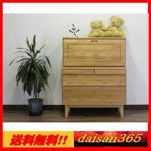 90デスク ライティングビューロー 机 モニカ 自然塗装 木脚   daisan-store