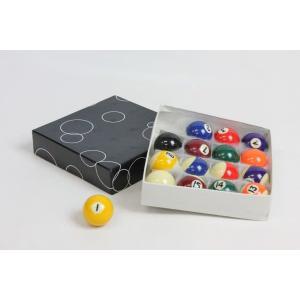 家庭用ビリヤードボール 直径38mm 16個セット 家庭用ビリヤードゲーム用ボール BY-3410Y|daisei120|02