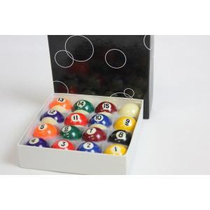 家庭用ビリヤードボール 直径38mm 16個セット 家庭用ビリヤードゲーム用ボール BY-3410Y|daisei120|03