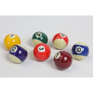 家庭用ビリヤードボール 直径38mm 16個セット 家庭用ビリヤードゲーム用ボール BY-3410Y|daisei120|04