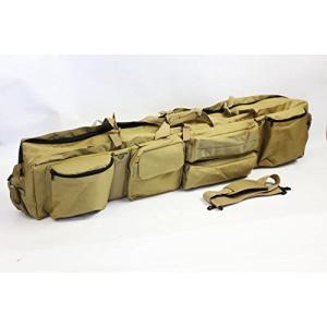 ライフルケースW120サイズ ガンケース ベージュ Wファスナー2本収納 MG-7623Y daisei120