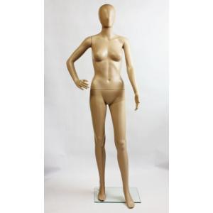 女性用マネキンG-11S 肌色マネキン スキンカラー レディース等身大173cm 全身マネキン婦人用 MK-7142Y|daisei120