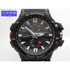 CASIO G-SHOCK カシオ SKY COCKPIT スカイコックピット GW-A1000-1AJF タフソーラー マルチ 6 保証付 中古B+ B-1461