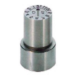 浦谷商事 並行輸入品 P型金型デートマークYM型 16mm A011915 PB-YM-16 メイルオーダー