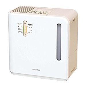 アイリスオーヤマ IRIS 気化ハイブリッド式加湿器(イオン無) ベージュ ARK-500-U [E...