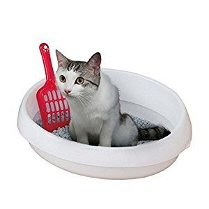 アイリスオーヤマ IRIS  ネコのトイレ390 しろ P-NE390 [C010602]|daishinshop