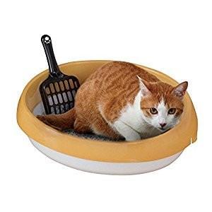 アイリスオーヤマ IRIS ネコのトイレ390 三毛 P-NE390 [C010602] daishinshop