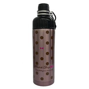 SHO-BI ステンレスボトル 500ml 直のみ 携帯用 Pinkish Drop NL72643 [A230504]|daishinshop