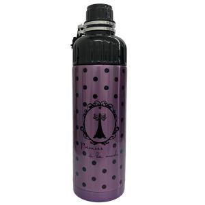 SHO-BI ステンレスボトル 500ml 直のみ 携帯用 Princess a la mode NL72645 [A230504]|daishinshop
