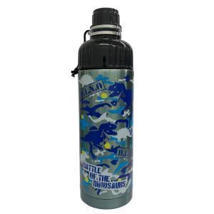 SHO-BI ステンレスボトル 500ml 直のみ 携帯用 BATTLE OF THE DINOSAURS NL72648 [A230504]|daishinshop