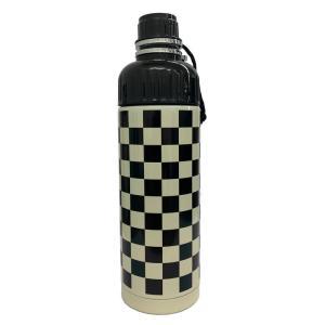 SHO-BI ステンレスボトル 500ml 直のみ 携帯用 チェック NL72649 [A230504]|daishinshop
