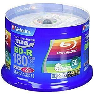 バーベイタム BD-R 録画用6倍速50枚スピンドル [34023] VBR130RP50V4 [F...