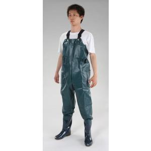 <title>エスコ ESCO 品質保証 27.0cm 耐油水中長靴 グリーン EA998XD-36 I260122</title>